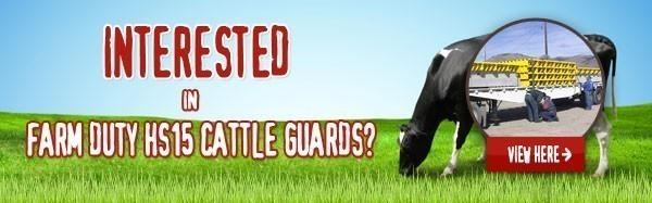 Farm Duty Cattle Guards